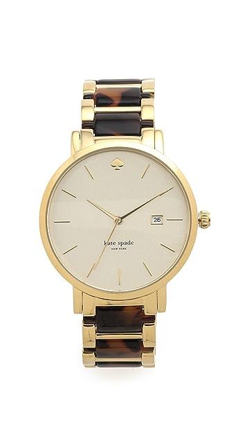 Kate Spade New York Gramercy Grand Chronograph Watch