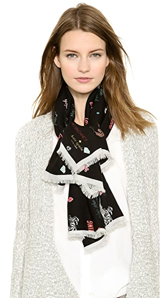 Kate Spade New York Las Vegas Icon Square Scarf
