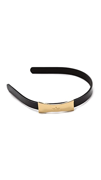 Kate Spade New York Things We Love Metal Bow Headband