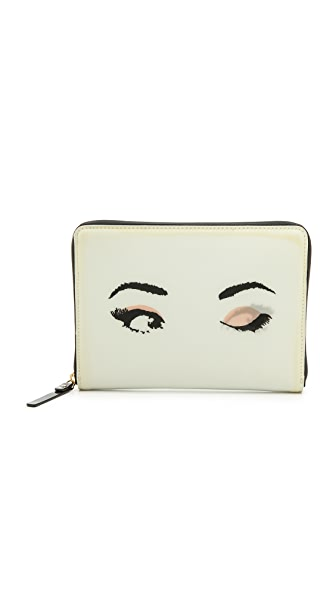 Kate Spade New York Lenticular Winking Eyes Mini iPad Slim Sleeve