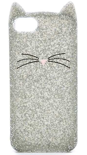 Kate Spade New York Glitter Cat iPhone 5 / 5S Case