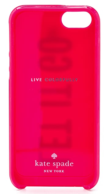 Kate Spade New York Let It Go iPhone 5 / 5S Case