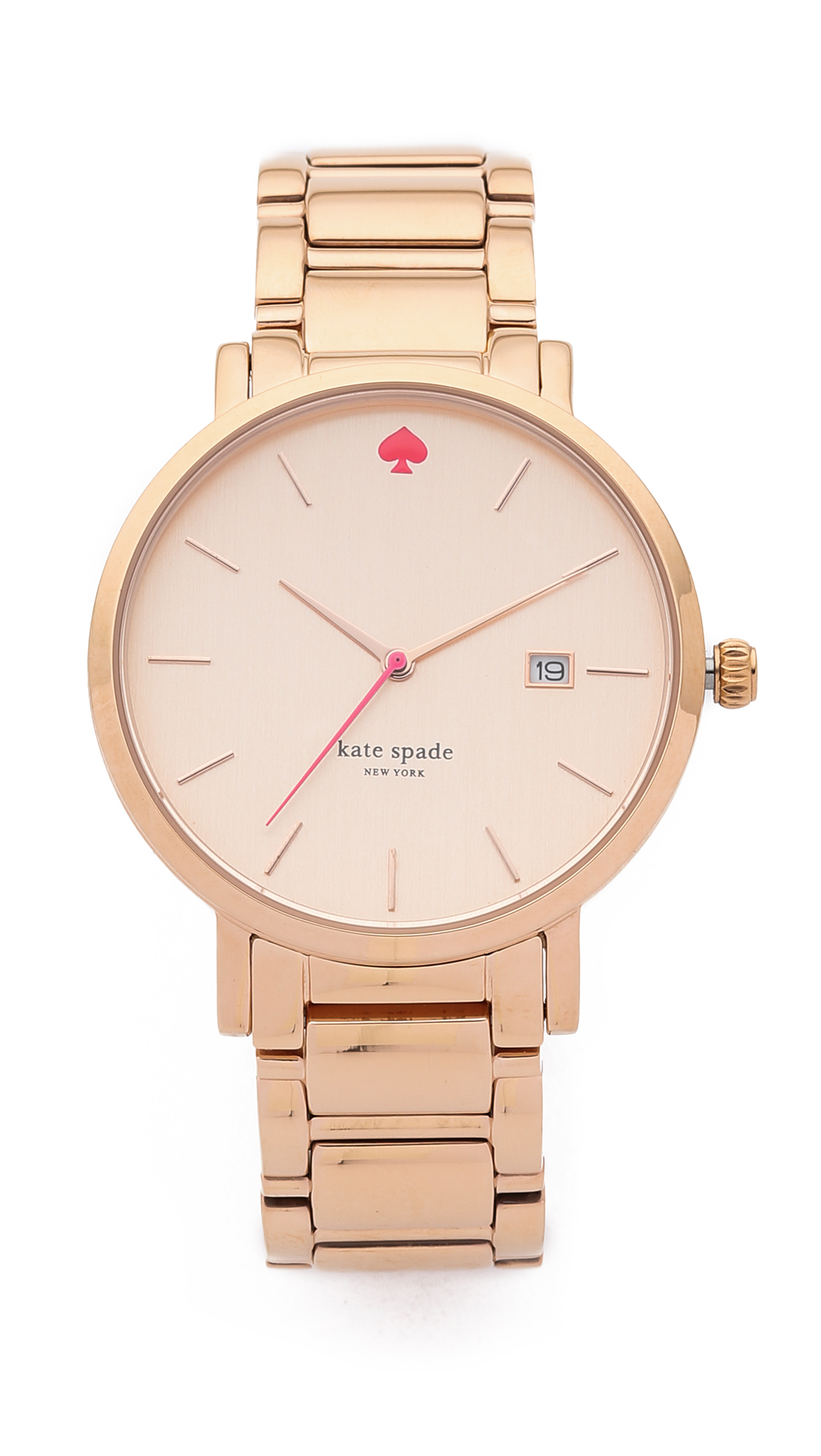 Kate Spade New York Gramercy Grand Watch - Rose Gold at Shopbop