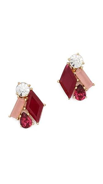 Kate Spade New York Casino Gems Stud Earrings