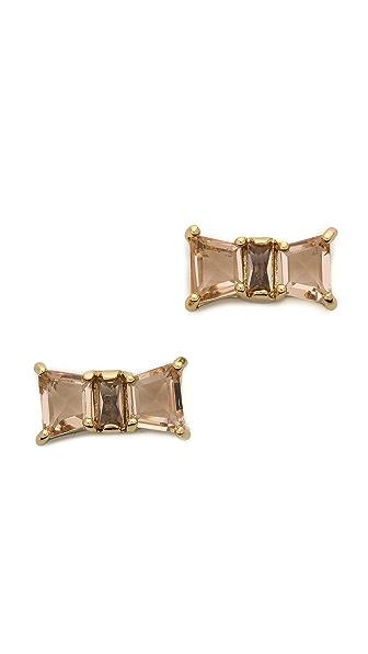 Kate Spade New York Jackpot Jewels Bow Stud Earrings