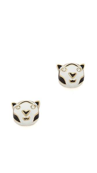 Kate Spade New York Lucky Streak Tiger Stud Earrings