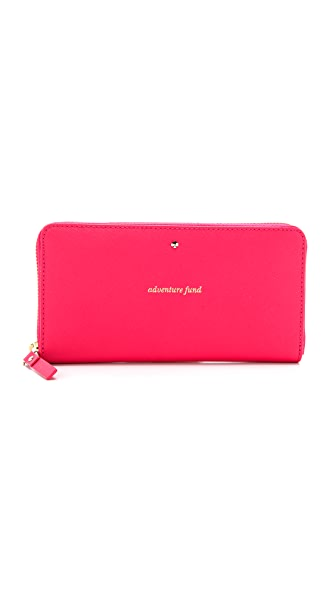 Kate Spade New York Flights of Fancy Lacey Zip Around Wallet