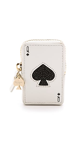 Kate Spade New York Place Your Bets Playing Card Coin Purse