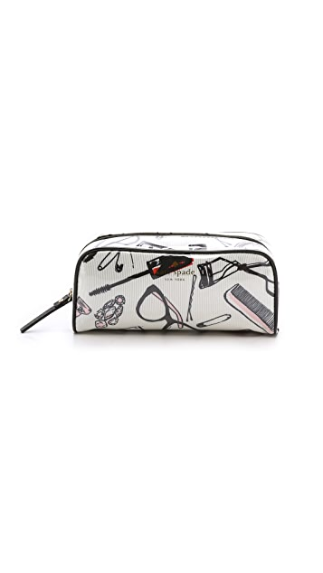 Kate Spade New York Shelby Drive Berrie Cosmetic Case