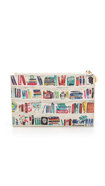 Kate Spade New York Bella Bookshelf Pencil Pouch