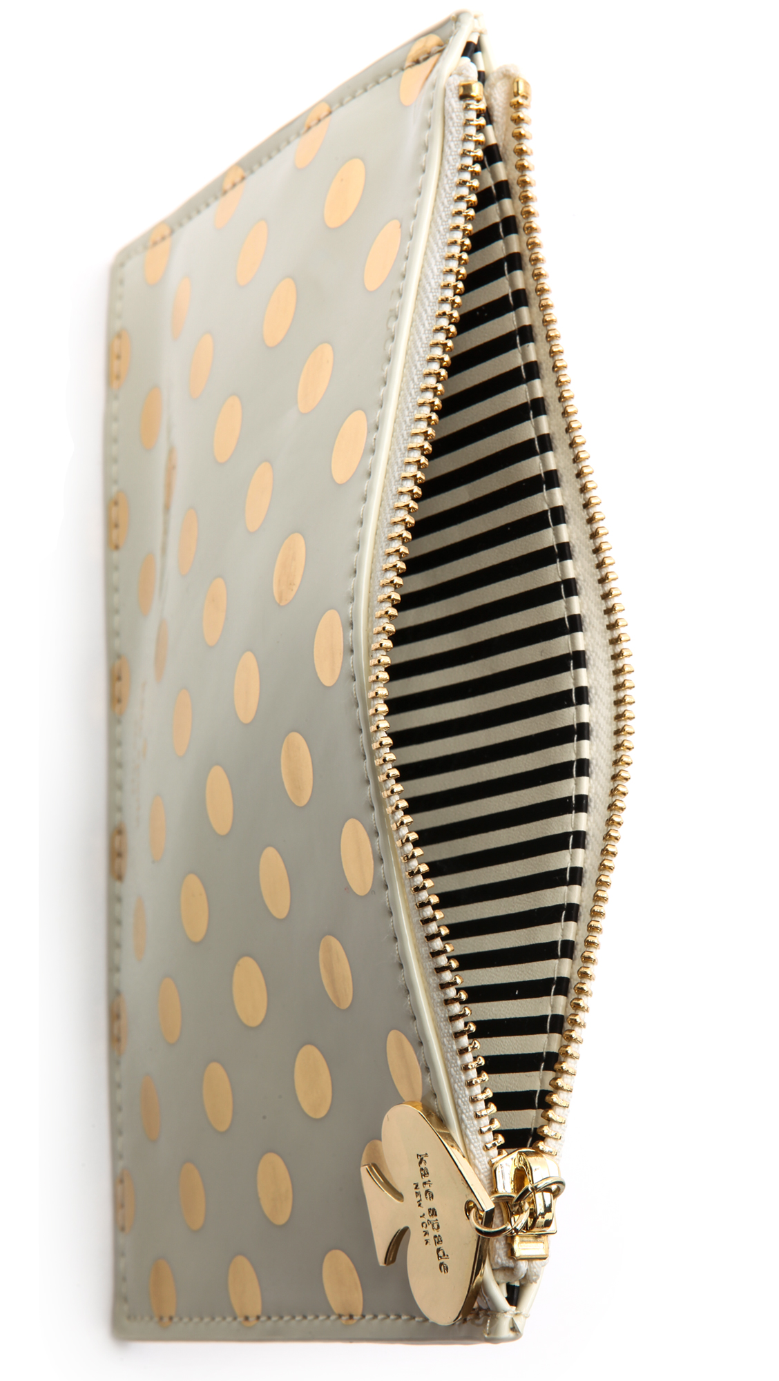 premium selection 99186 f601c Kate Spade New York Gold Dots Pencil Pouch | SHOPBOP