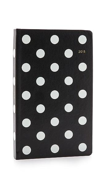 Kate Spade New York Deco Dot 12 Month Agenda