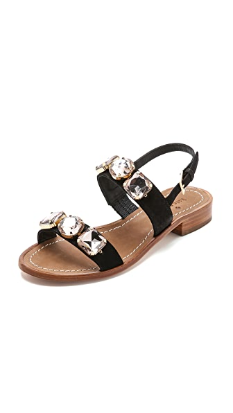 Kate Spade New York Bacau Jeweled Flat Sandals