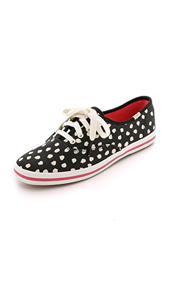 Kate Spade New York Kick Flamingo Dot Keds Sneakers
