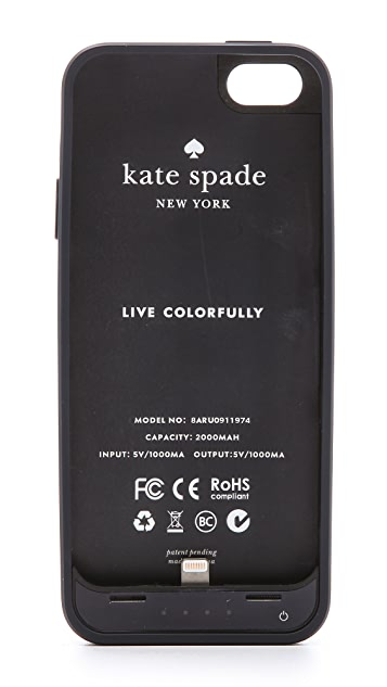 Kate Spade New York Candy Stripe iPhone 5 / 5S Charger Case