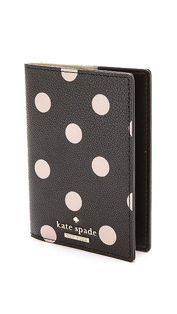 Kate Spade New York Cedar Street Dot Passport Holder