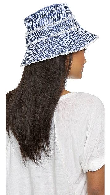 Kate Spade New York Graphic Tweed Bucket Hat