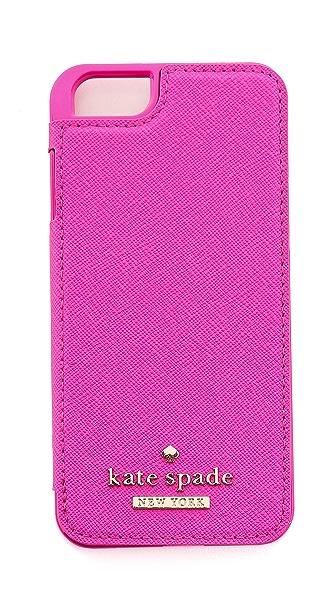 Kate Spade New York Cedar Street Leather Folio iPhone 6 Case