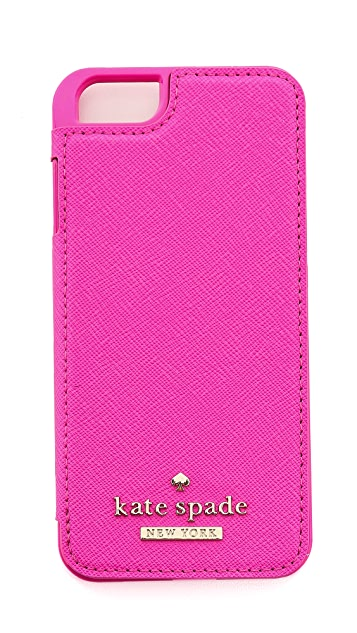 Kate Spade New York Cedar Street Leather Folio iPhone 6 Case