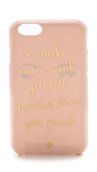 Kate Spade New York A Smile & a Wink iPhone 6 Case