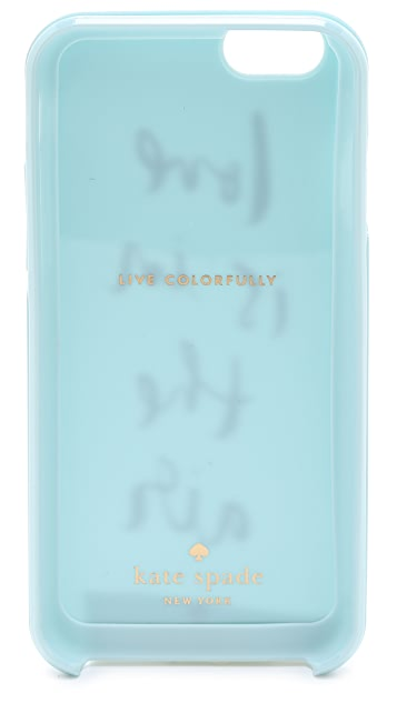 Kate Spade New York Love Is in the Air iPhone 6 Case