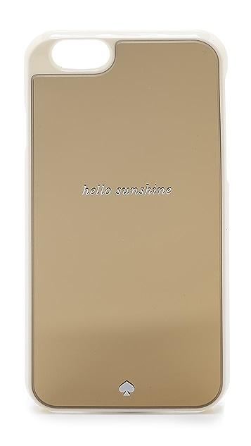 Kate Spade New York Hello Sunshine iPhone 6 / 6s Case