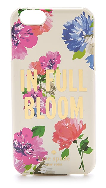 Kate Spade New York In Full Bloom iPhone 6 Case