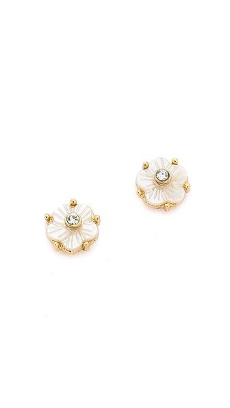 Kate Spade New York Flirtatious Flowers Small Stud Earrings