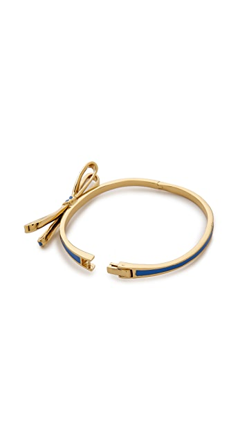 Kate Spade New York Tied Up Hinged Bangle