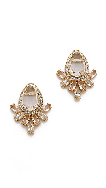 Kate Spade New York Razzle Dazzle Cluster Earrings