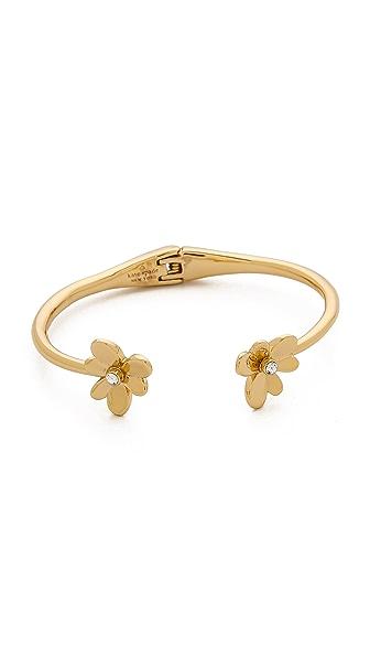 Kate Spade New York Pansy Blossoms Cuff Bracelet