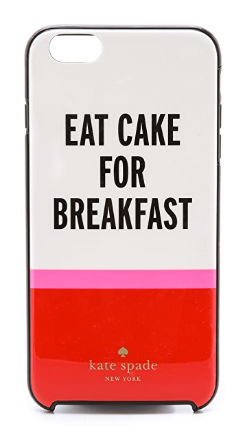 Kate Spade New York Eat Cake For Breakfast iPhone 6 Plus / 6s Plus Case