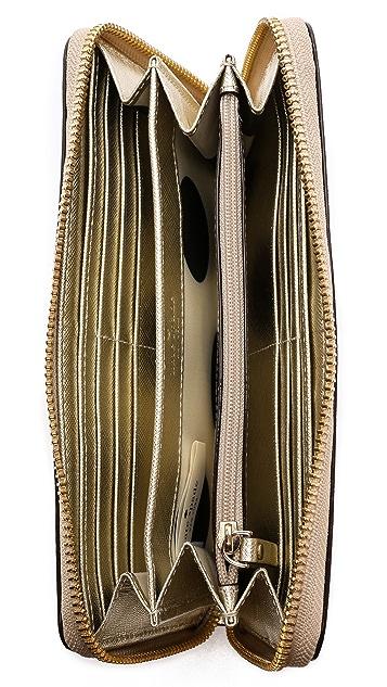 Kate Spade New York Lacey Zip Around Continental Wallet