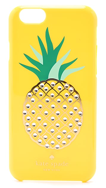 Kate Spade New York Embellished Pineapple iPhone 6 Case