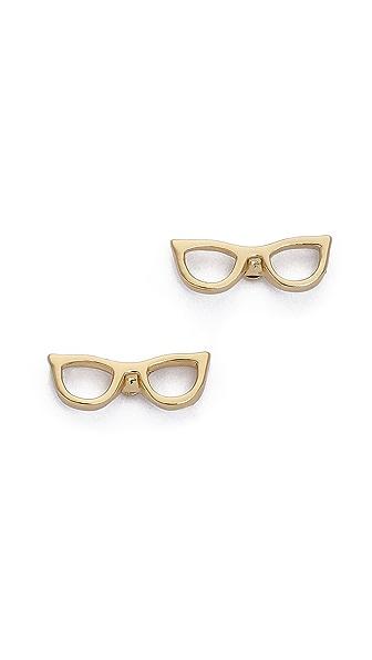 Kate Spade New York Goreski Glasses Stud Earrings