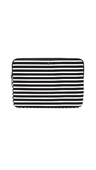 "Kate Spade New York Fairmont Stripe 15"" Laptop Sleeve"