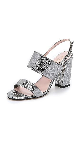 Kate Spade New York Irvine Sandals - Aluminum