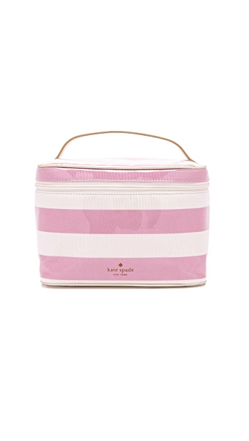 Kate Spade New York Large Natalie Cosmetic Train Case