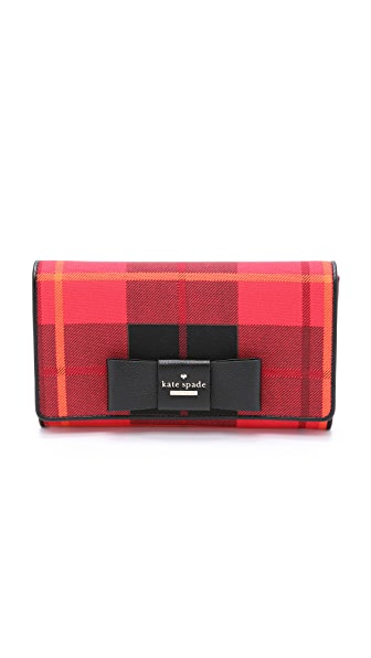 Kate Spade New York Tally Clutch - Cherry Liqueur Multi