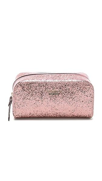 Kate Spade New York Glitter Bug Ezra Cosmetic Case