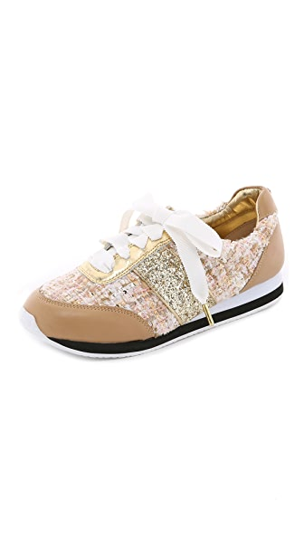 Kate Spade New York Sidney Tweed Jogging Sneakers