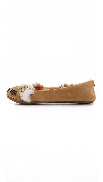 Kate Spade New York Salena Fox Slippers