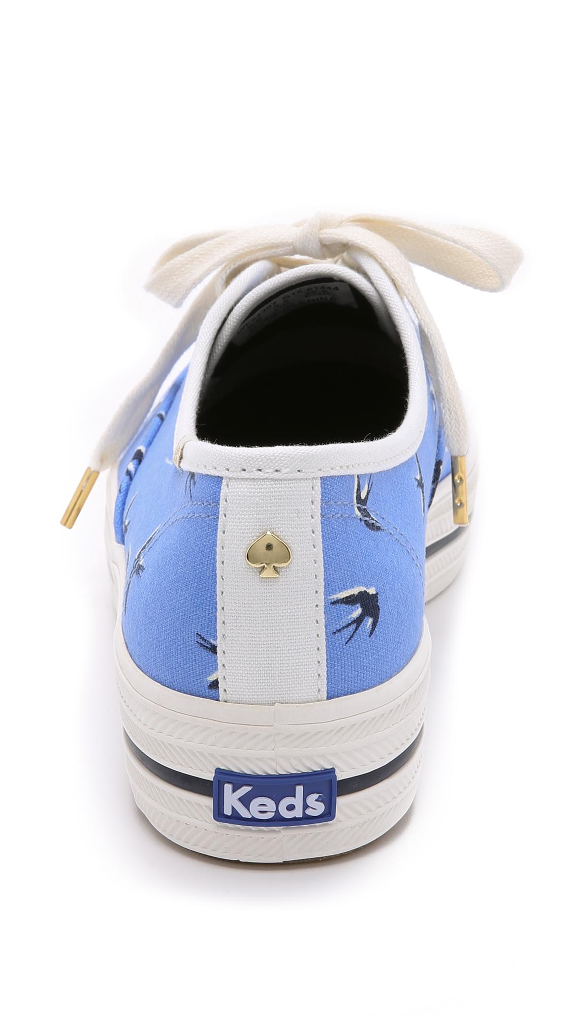 920ffdcc36d9 Kate Spade New York Keds for Kate Spade Triple Kick Swallow Sneakers ...