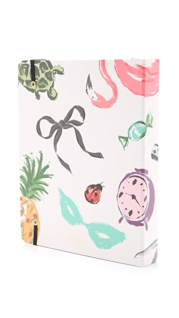 Kate Spade New York Novelty Couture Large 17 Month Spriral Agenda