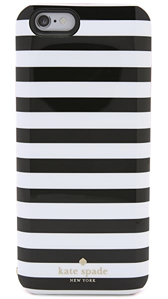 Kate Spade New York Micro Stripe iPhone 6 Charging Case