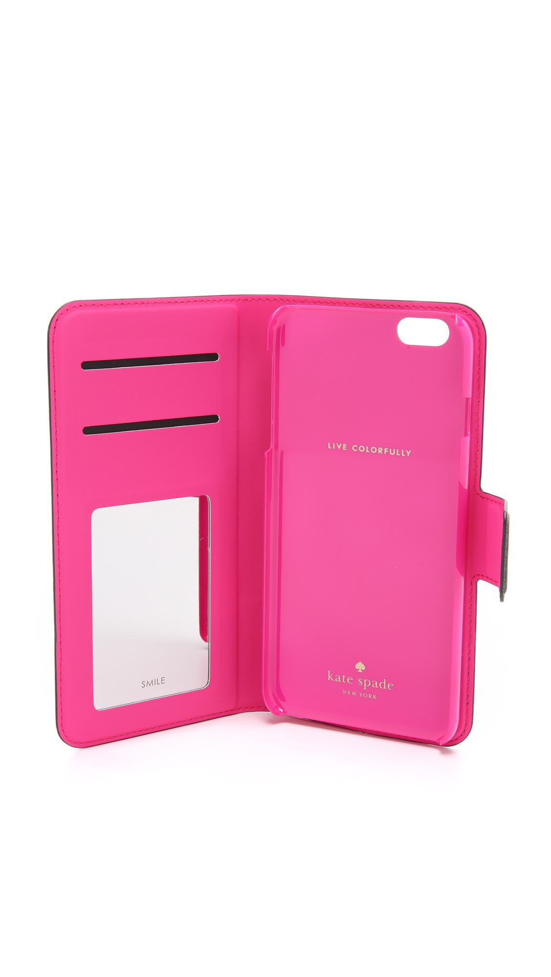 official photos 7acc5 2031d Leather Wrap Folio iPhone 6 Plus / 6s Plus Case