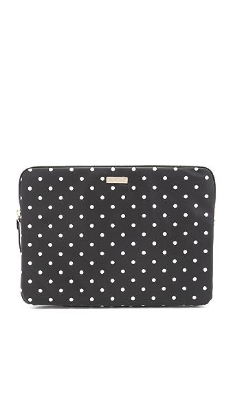 """Kate Spade New York Classic Mini Pavillion Dot 13"""" Laptop Sleeve"""