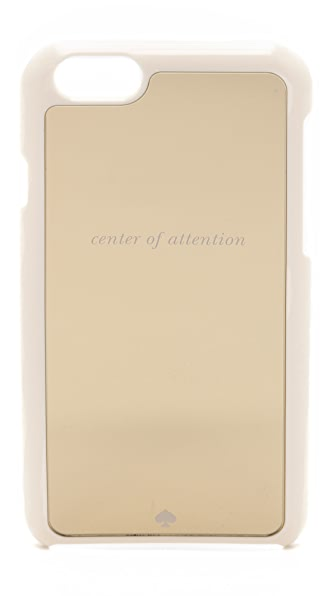 Kate Spade New York Center of Attention Resin iPhone  iPhone 6 / 6s Case