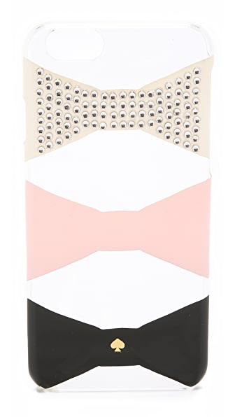 Kate Spade New York Embellished Bow Tile iPhone 6 / 6s Case