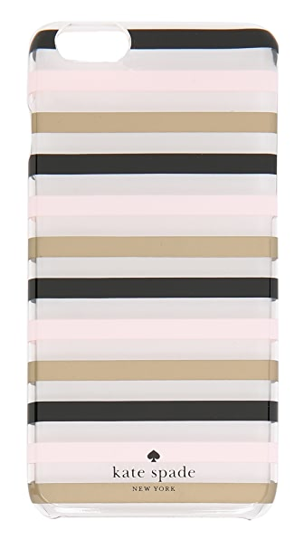 Kate Spade New York Watch Hill Stripe Clear iPhone 6 Plus / 6s Plus Case